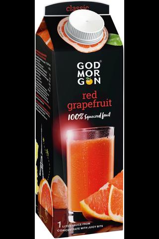 God Morgon Red Graperfuit täysmehu 1L