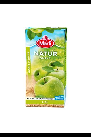 Marli Natur Omenatäysmehu 100% 2dl