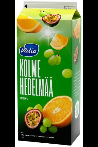 Valio 3 hedelmän mehu 1,5 l (rypäle, appelsiini,...