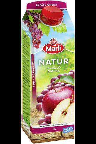 Marli Natur Rypäle-omenatäysmehu 1L