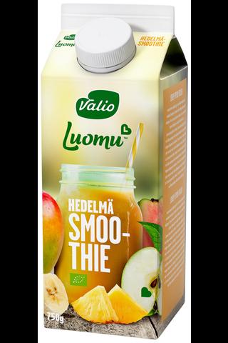 Valio Luomu smoothie 0,75 l hedelmä