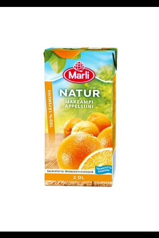 Marli Natur Makeampi appelsiinitäysmehu...
