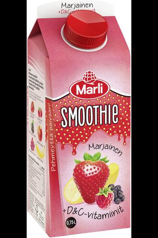 Marli marjainen smoothie + D&C-vitamiinit...