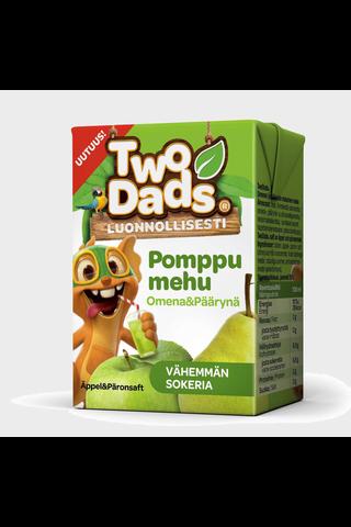 TwoDads 2dl Pomppumehu omena-päärynä