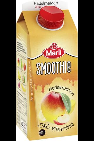 Marli hedelmäinen smoothie + D&C-vitamiinit...