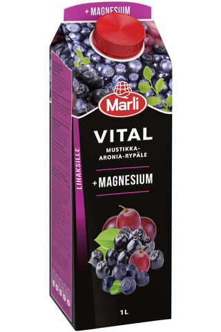 Marli Vital Mustikka-aronia-rypälemehujuoma...
