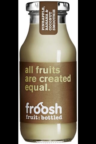 Fazer Froosh Hedelmäsmoothie 250 ml Ananas,...