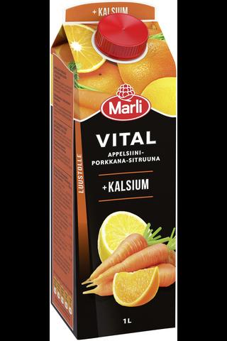 Marli Vital Appelsiini-porkkana-sitruunamehujuoma...
