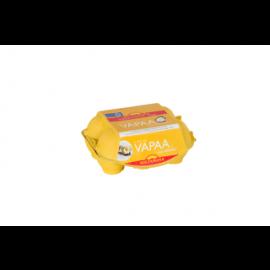 Kultamuna vapaa kananmuna XL6 468g