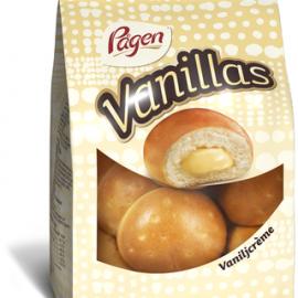 Pågen Vanillas vaniljacrèmetäytteiset...