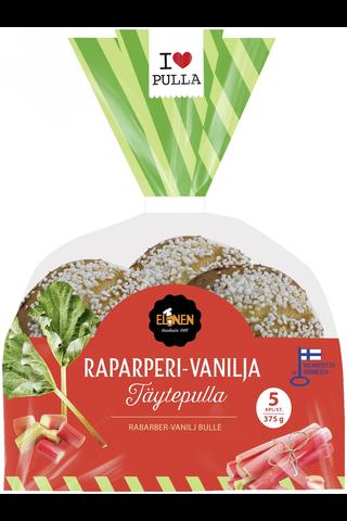 Elonen Raparperi-vanilja Täytepulla 375g 5kpl/pss