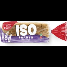 Vaasan ISOpaahto Monivilja 525 g moniviljapaahtoleipä