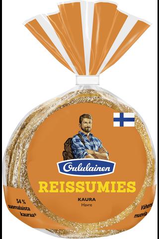 Oululainen Reissumies 275g 4kpl Kaura kauraleipä