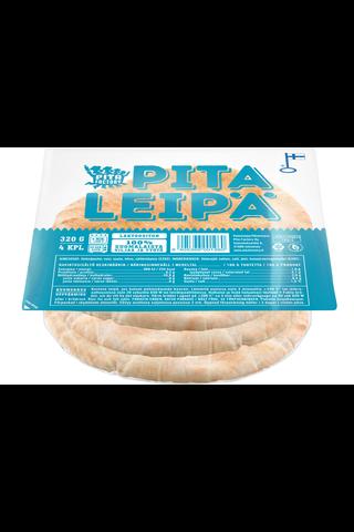 Pita Factory Pitaleipä 320 g – 4 kpl