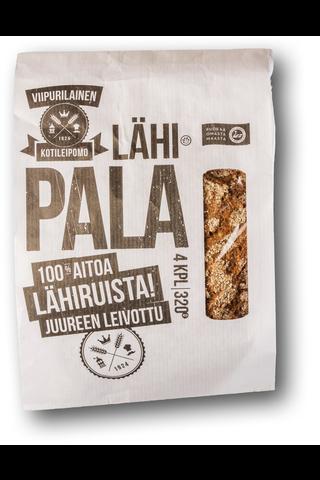 Viipurilainen 320g lähipala 100% ruisleipä