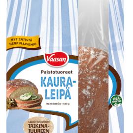 Vaasan Paistotuoreet Kauraleipä 580 g kauraisa...