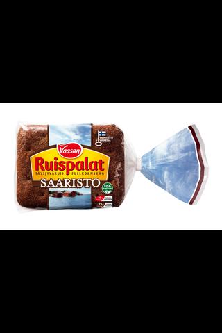 Vaasan Ruispalat Saaristo 360 g 6 kpl täysjyväruisleipä