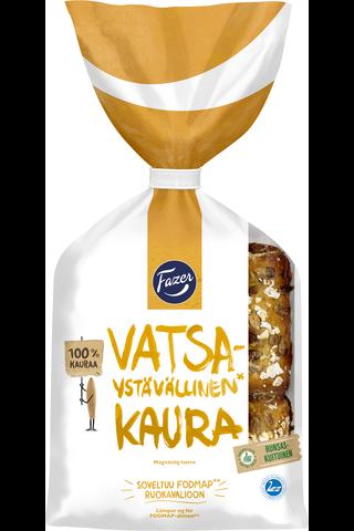 Fazer Vatsaystävällinen 260g 4kpl Kaura 100% kauraleipä