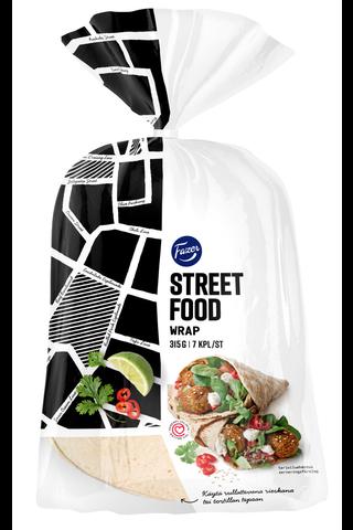 Fazer Street Food 315g 7kpl Wrap rieska