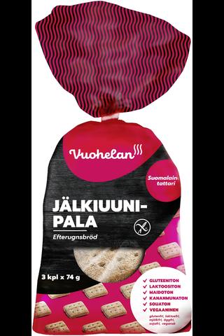 Vuohelan gluteeniton Jälkiuunipala 3/222g