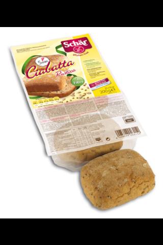 Schär 200g Ciabatta Rustica esipaistetut täysjyväsämpylät gluteeniton