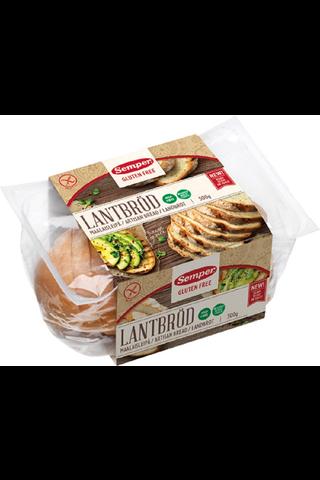 Semper 300g Gluteeniton Maalaisleipä, viipaloitu