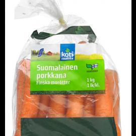 Kotimaista 1kg suomalainen porkkana