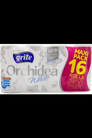 Grite 16rl Wc Paperi Orchidea Valkoinen 3krs