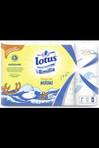 Lotus Emilia Design Fun talouspyyhe 4rl
