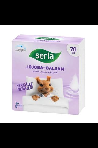 Serla nenäliina jojoba-balsam 70kpl, valkoinen,...