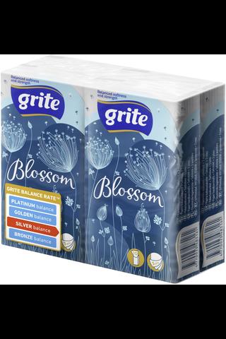 Grite nenäliina Blossom 4x10kpl