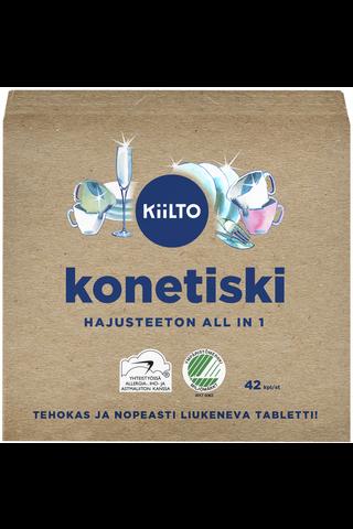 Kiilto Hajusteeton All in 1 konetiskitabletti...