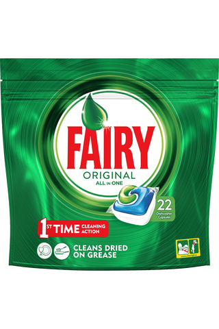 Fairy 22kpl Original All in One konetiskitabletti
