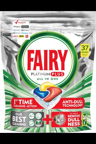 Fairy 37kpl Platinum Plus All in One Lemon...