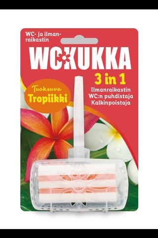 WC Kukka Tropiikki 3in1 wc- ja ilmanraikastin...