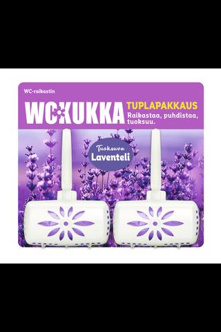 WC Kukka Laventeli tuplapakkaus wc-raikastin...
