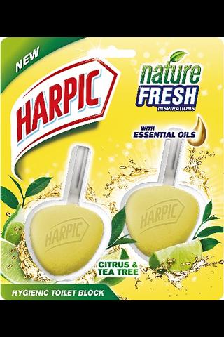 Harpic WC-raikastin sitruuna 2kpl