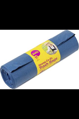 McLean-Home Vahva jätesäkki, sininen LDPE,...