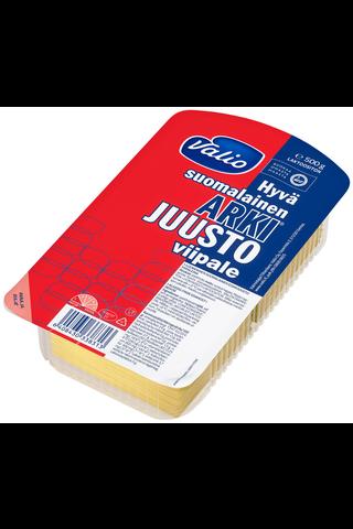 Valio Hyvä suomalainen Arki juustoviipale e500 g