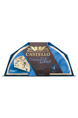Castello 150 g Blue Sinihomejuusto