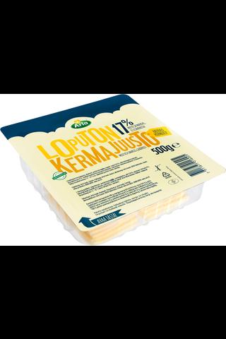Arla Loputon 500g 17% viipale kermajuusto
