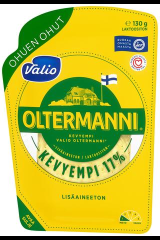 Valio Oltermanni 17 % ohuen ohut e130 g viipale