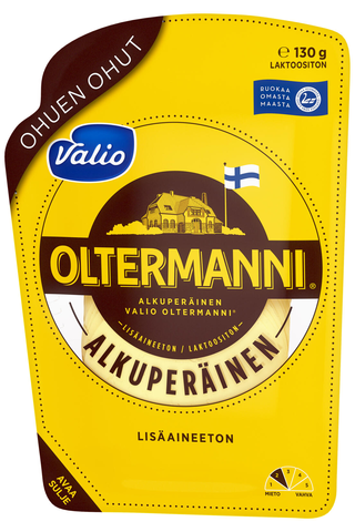 Valio Oltermanni ohuen ohut e130 g viipale