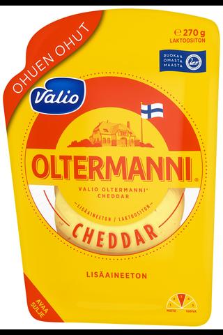 Valio Oltermanni Cheddar ohuen ohut e270...