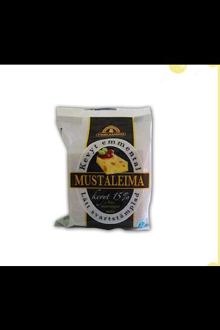 Porlammin 280g 15% Mustaleima Emmental juusto