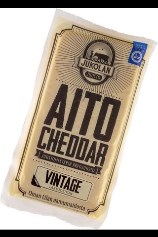 JUKOLAN AITO CHEDDAR Vintage 160G, väh....