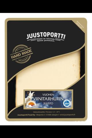 Juustoportti Vuohen viinitarhuri juusto 175...