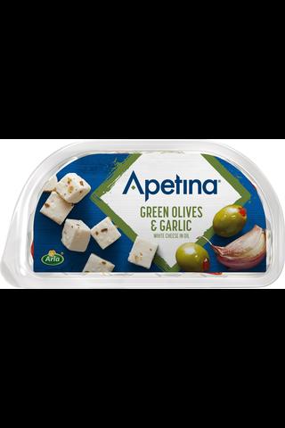 Apetina 100/60g snack vihreitä oliiveja,...