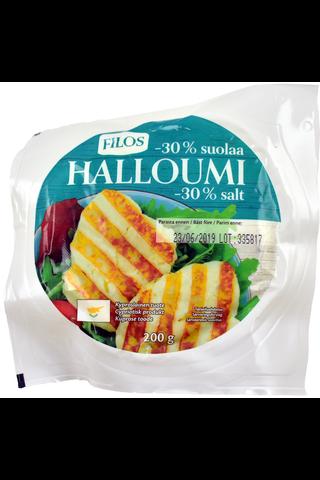 Filos 200g halloumi-juusto suolaa vähennetty