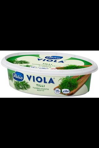 Valio Viola kevyt e200 g tilli tuorejuusto...